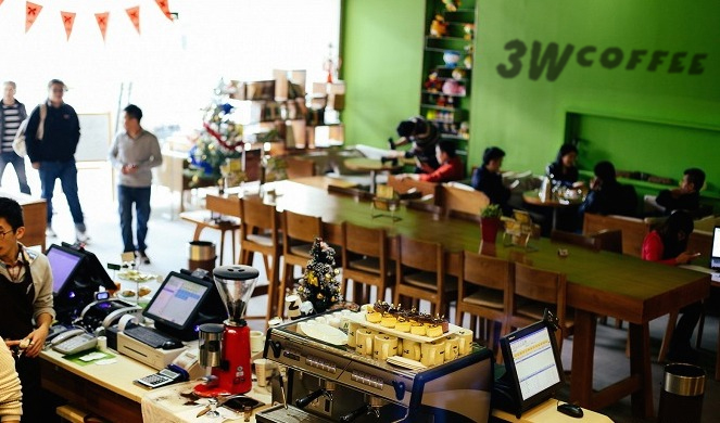 3W Coffee China's Startup Incubators