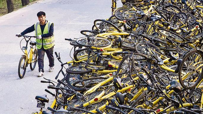 InnovationChina1 Bike Sharing Ofo